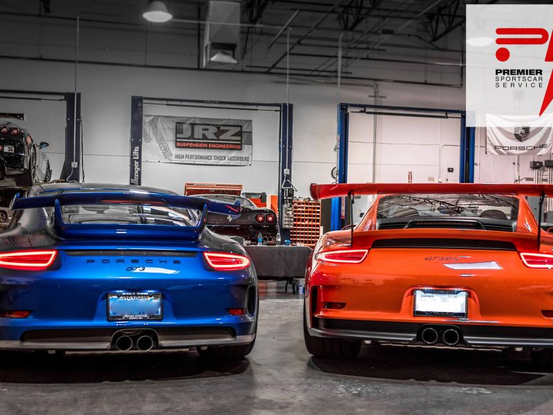 GT3 & GT3RS in for Service